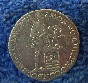 Silver 1/8 ducat obverse
