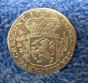 Silver 1/8 ducat reverse