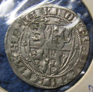 Hammered coin John II, Duke of Brabant obverse