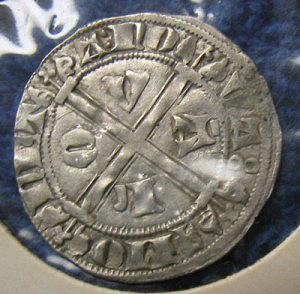 Hammered coin John II, Duke of Brabant reverse