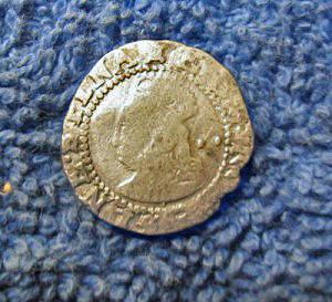 golden coin front
