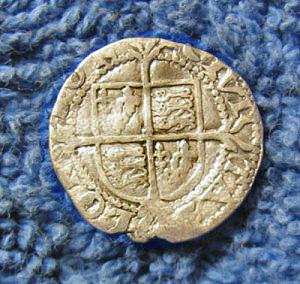 golden coin reverse