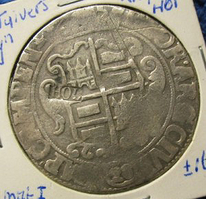 Silver coin florin or 28 stuiver