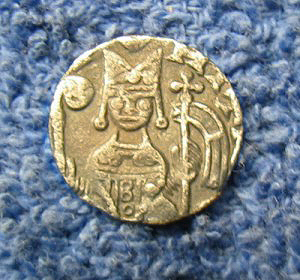 Hammered coin obverse