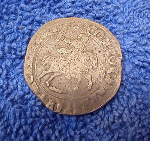 Silver coin obverse
