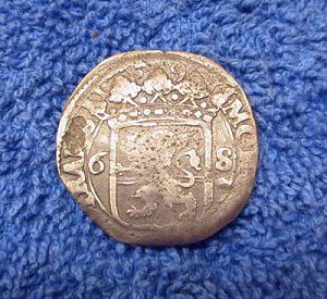 Silver coin reverse