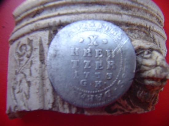 10 Kreuzer 1735 G.K. zilveren munt