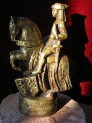 bronzen beeldje Jan de Eerste