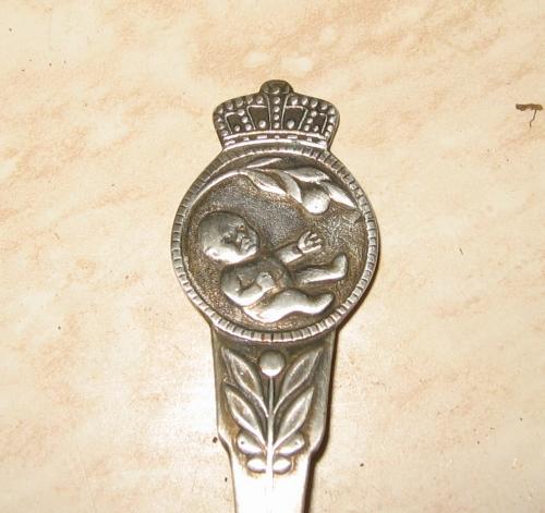 antiek bestek geboorte Willem Alexander