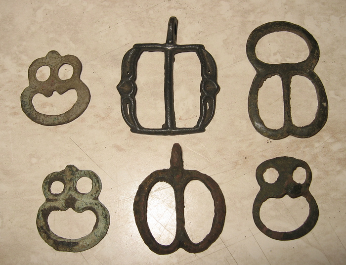 old  double D buckles