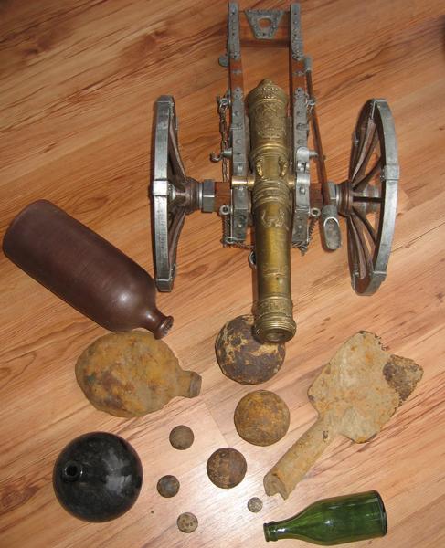 kanon met kanonskogels