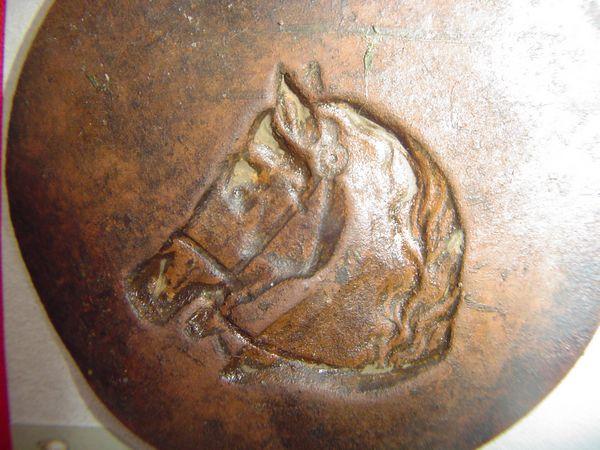 Paardenbeslag paardenhoofd