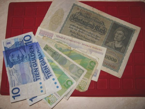 nederlands papiergeld. Papieren goudgulden