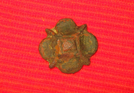 Detector vondst Middeleeuws paardenbeslag - leerbeslag