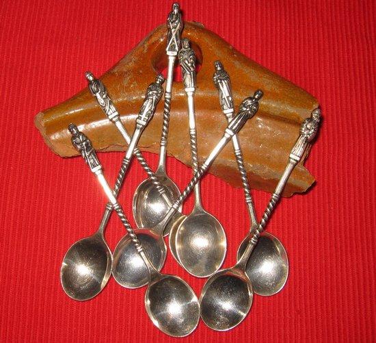 schatvondst zilveren lepels