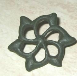 Celtic trumpet brooch