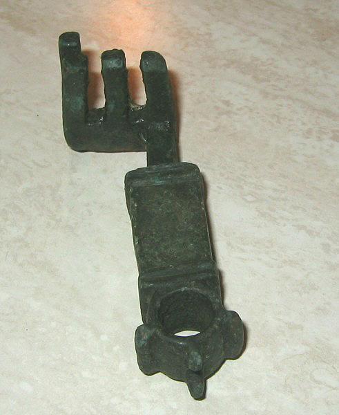 Romeinse bronzen sleutel, Roman heavy bronze key