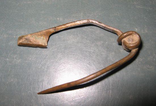 La Tène III fibula met naald
