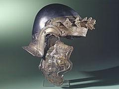 Metaaldetector bodemvondst verzilverd paarden beslag for Romeins schild