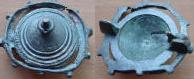 romeinse fibula disc brooche