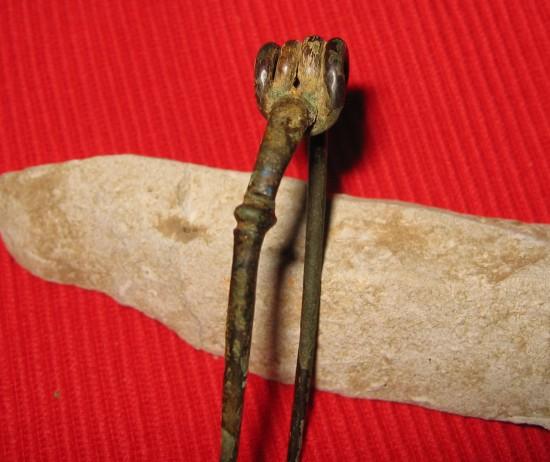 bodemvondst van een fibula