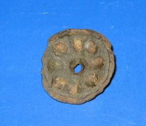 Romeinse bronzen schijffibula