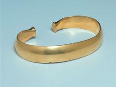 Gouden voorwerpen die dateren uit de prehistorie zijn zeer zeldzaam