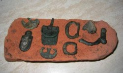 Roman military buckles