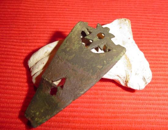 bodemvondst van een Romeinse artefact voorzijde