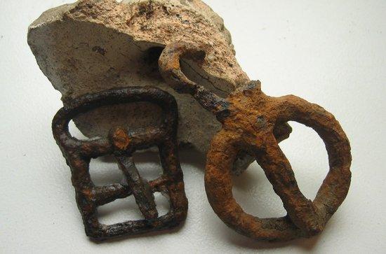 Roman iron buckles