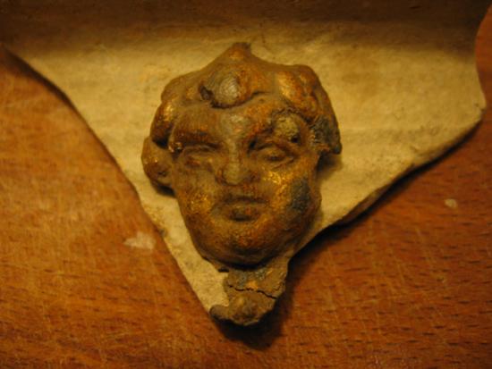 romeinse Medusa kop voorkant