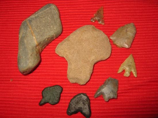prehistorische pijlpunten