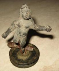 Roman Cupid statue