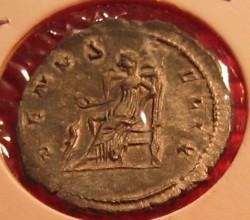 Salonia Silver Denarius rear