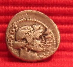 Denarius Julius Ceasar front