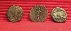Denarius Faustina Dominatius and Antonius reverse