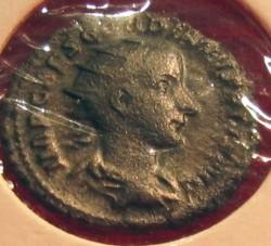 Silver Denarius Gordianus III front
