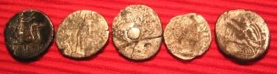 Silver Denarius Roman Republic reverse