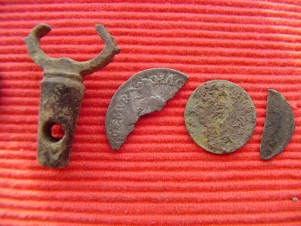 romeinse metaaldetector vondsten